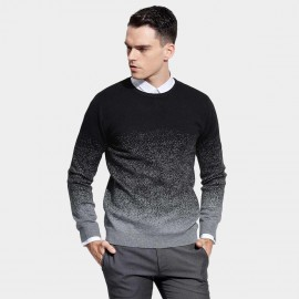 Basique Dotted Crew Black Knit (05.0037)