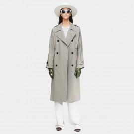 Jazzevar Heritage Belted Grey Trench Coat (9013)