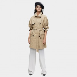 Jazzevar Cover Up Camel Trench Coat (9027)