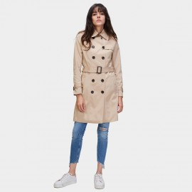 Jazzevar 9 to 5 Beige Trench Coat (860101)