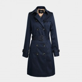 Jazzevar 9 to 5 Navy Trench Coat (860101)
