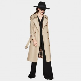Jazzevar Private Detective Camel Trench Coat ( YA7002-1)
