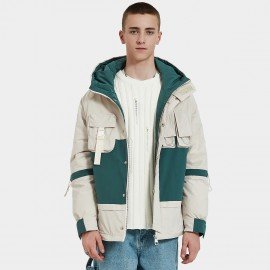 Defend Ciao Nothing Down Double Colour Cream Down Jacket (DCY-1971)