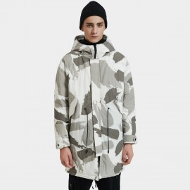 Defend Ciao Conceal Grey Camouflage Down Jacket (DCY-3338)
