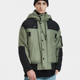 Defend Ciao Unstoppable Force Hooded Green Down Jacket (DCY-5936)