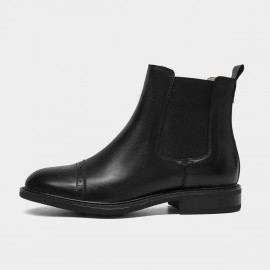 Beau Step It Up Black Boots (03638)