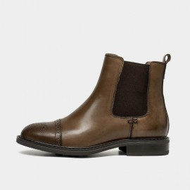 Beau Step It Up Brown Boots (03638)