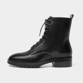 Beau Made for Walking Lace Up Black Boots (03807)