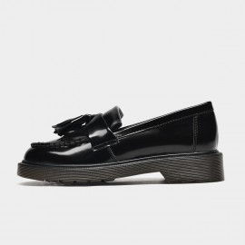 Beau Glazed Tassles Black Loafers (27701)