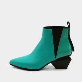 Jady Rose Cubed Dimension Green Boots (19DR10650)