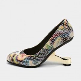 Jady Rose Day To Night Rainbow Pumps (19DR10657)