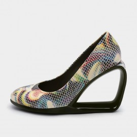 Jady Rose Peek-A-Boo Rainbow Wedges (19DR10661)