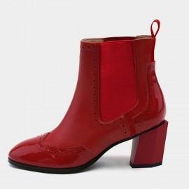 Jady Rose Roaring 20s Red Boots (19DR10664)