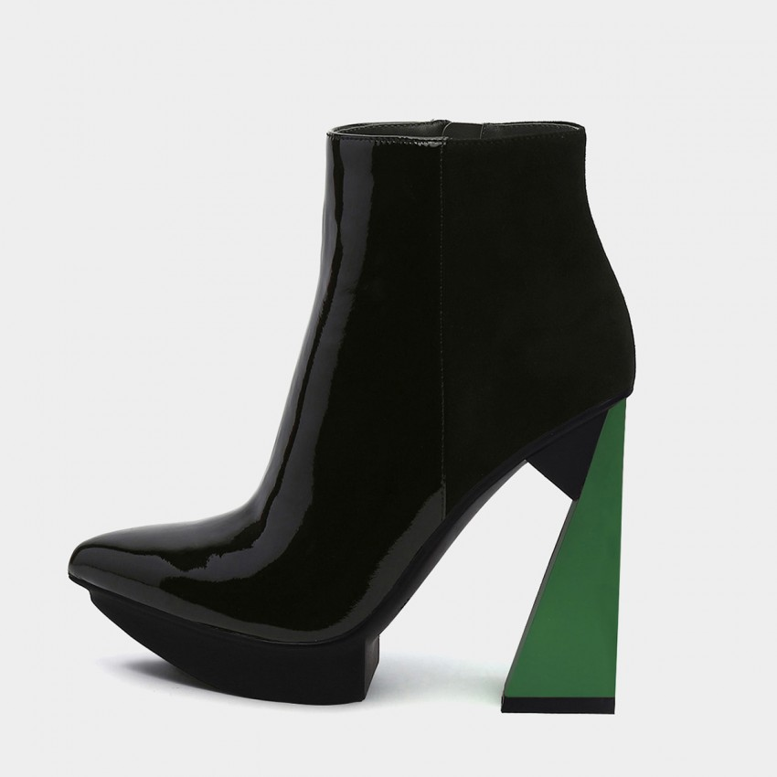 Jady Rose Sky High Green Boots (19DR10665)