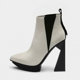 Jady Rose Take It To New Heights White Boots (19DR10666)