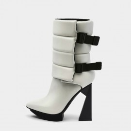 Jady Rose Rise Above White Boots (19DR10669)