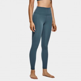 CRZ Yoga Active Core Seamless Blue Leggings (R009)