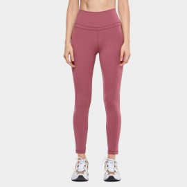 CRZ Yoga Active Core Seamless Burgundy Leggings (R009)
