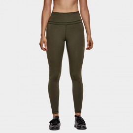 CRZ Yoga Active Core Seamless Olive Leggings (R009)