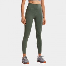 CRZ Yoga Active Core Seamless Sage Leggings (R009)
