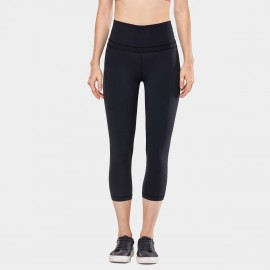 CRZ Yoga Super Stretch Ultra Comfort Black Leggings (R418)