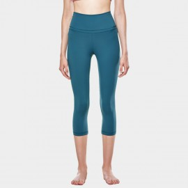 CRZ Yoga Super Stretch Ultra Comfort Blue Leggings (R418)