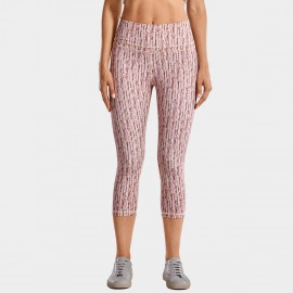 CRZ Yoga Super Stretch Ultra Comfort Striped Leggings (R418)