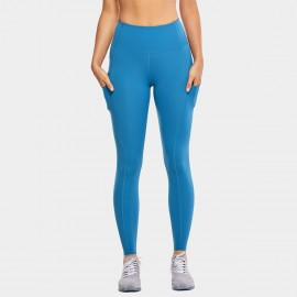 CRZ Yoga Scrunch Bum Tight Blue Leggings (R427)
