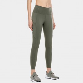 CRZ Yoga Scrunch Bum Tight Green Leggings (R427)
