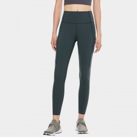 CRZ Yoga Scrunch Bum Tight Gunmetal Grey Leggings (R427)