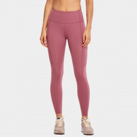 CRZ Yoga Scrunch Bum Tight Redbean Leggings (R427)