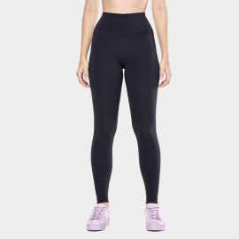 CRZ Yoga High Rise Seamless Stretch Black Leggings (R444)