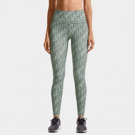 CRZ Yoga High Rise Seamless Stretch Striped Leggings (R444)