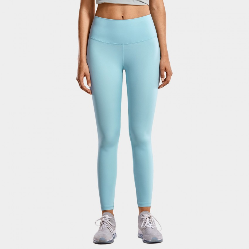 CRZ Yoga High Waist Tight Stretch Blue Leggings (R448)