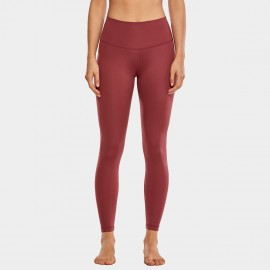 CRZ Yoga High Waist Tight Stretch Brick Leggings (R448)