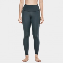 CRZ Yoga High Waist Tight Stretch Gunmetal Grey Leggings (R448)