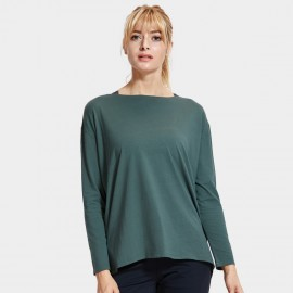 CRZ Yoga Ultra Comfort Long Sleeve Green Tee (R761)