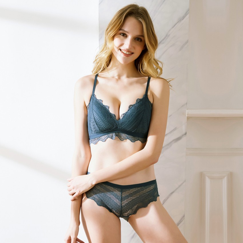 Lovevirl Basic Beauty Navy Lace Lingerie Set (1286)