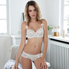 Lovevirl Fatal Attraction White Lingerie Set (9186B)