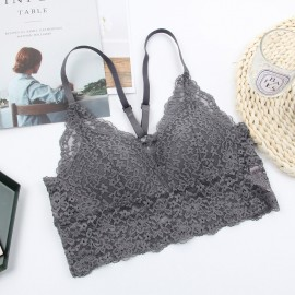 Lovevirl Casual & Cute Grey Lingerie Set (BL028)