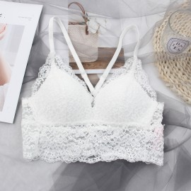 Lovevirl Casual & Cute White Lingerie Set (BL028)