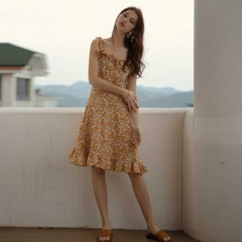 Isislove Sunny Days Dress Yellow (DR18177)