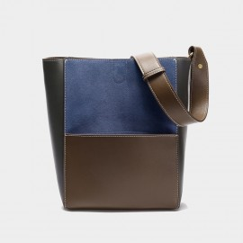Cilela Accent Patch Blue Tote (3037)