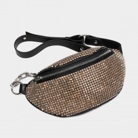 Cilela Glitz and Glam Gold Shoulder Bag (CK-003020)