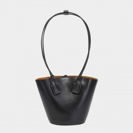 Cilela Statement Black Top Handle Bag (CK-003027)