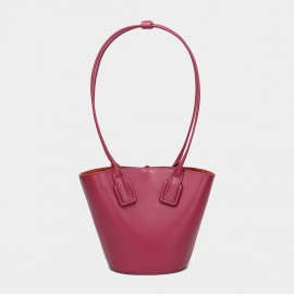 Cilela Statement Wine Top Handle Bag (CK-003027)