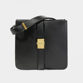 Cilela Square Black Shoulder Bag (CK-003029)