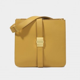 Cilela Square Yellow Shoulder Bag (CK-003029)