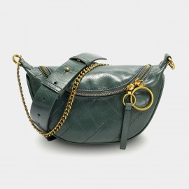 Cilela Soft Shine Green Shoulder Bag (CK-003052)
