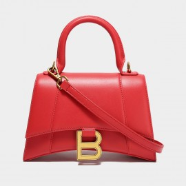 Cilela B Yourself Red Top Handle Bag (CK-003074)